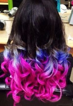 Pigmented Hair Color