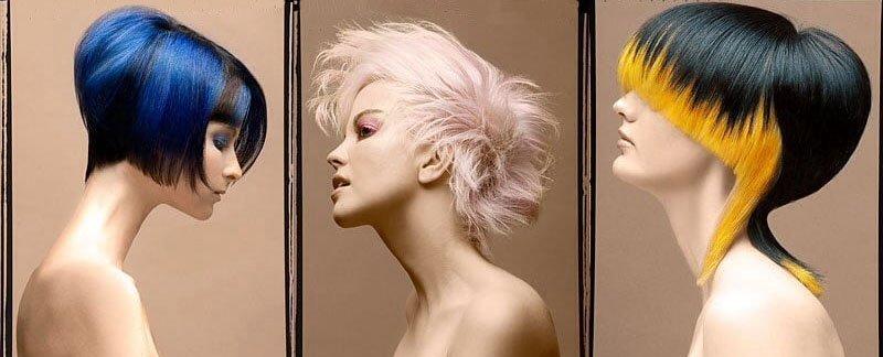 Hair styling as an art form